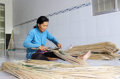 Đồng bào Khmer ở xã nông thôn mới