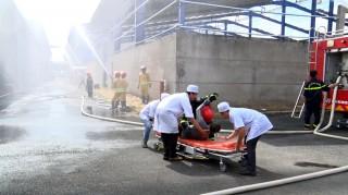 Diễn tập phương án phòng cháy chữa cháy tại Công ty Cổ phần Gavi