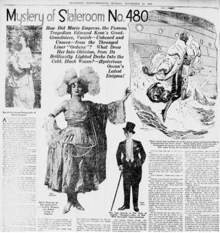 Vụ mất tích bí ẩn của ngôi sao phim câm năm 1919