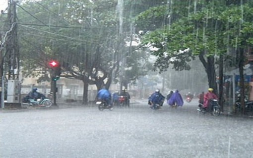 Từ đêm 2-11, các tỉnh Quảng Ngãi đến Phú Yên có mưa to đến rất to