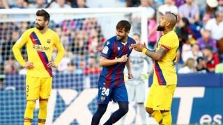 Messi ghi bàn, Barca vẫn trắng tay trước Levante