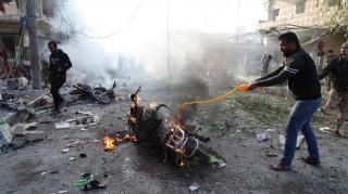 Đánh bom ở Syria, 43 người thương vong