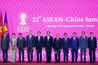 Thủ tướng Nguyễn Xuân Phúc dự Hội nghị Cấp cao ASEAN - Trung Quốc lần thứ 22