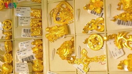 Giá vàng trong nước giữ vững đà tăng nhẹ