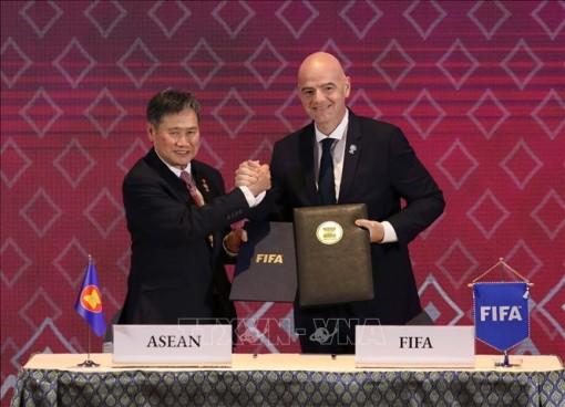 ASEAN và FIFA hợp tác thúc đẩy phát triển bóng đá tại Đông Nam Á