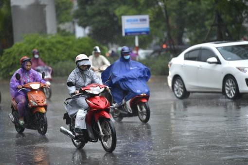 Thời tiết từ 4 đến 10-11: Không khí lạnh tăng cường; Trung và Nam Bộ mưa to và dông