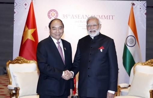 Việt Nam đánh giá cao vai trò quan trọng của Ấn Độ tại khu vực