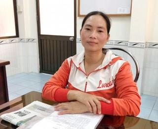 Trả lời phản ánh của bà Nguyễn Thị Nhí