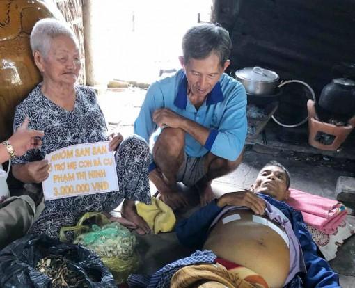 Thương cảnh 3 mẹ con nghèo khó, bệnh tật