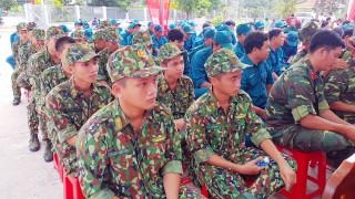 Tịnh Biên tổ chức lễ xuất quân thực hiện các hoạt động Tết quân – dân năm 2020