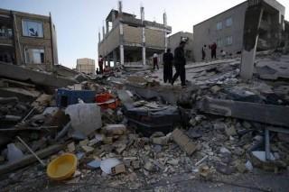 Động đất bất ngờ ở Iran làm 125 người thương vong