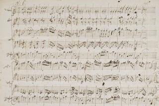 Bán đấu giá bản nhạc viết tay hồi trẻ của thiên tài soạn nhạc Mozart