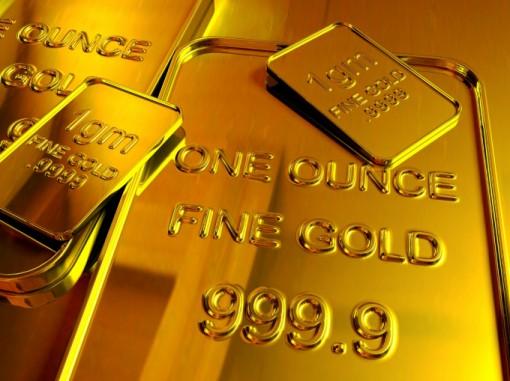 Giá vàng xuống mức thấp nhất 2 tháng qua