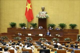 Hôm nay 11-11, Quốc hội biểu quyết một Nghị quyết, thảo luận hai dự án Luật