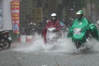Áp thấp nhiệt đới từ bão số 6 suy yếu gây mưa to đến rất to trên diện rộng