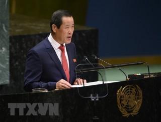 Triều Tiên hối thúc Mỹ thực thi thỏa thuận của hội nghị Singapore
