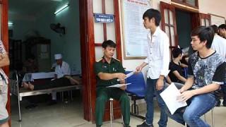 An Phú: 1.066 thanh niên khám tuyển nghĩa vụ quân sự