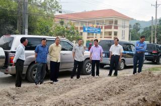 Khảo sát các công trình giao thông trọng điểm tại Tịnh Biên