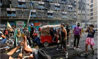 Hai người chết, 35 người bị thương trong các cuộc biểu tình ở Baghdad