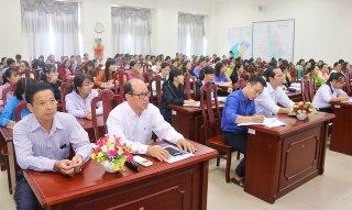 Liên đoàn Lao động TP. Châu Đốc tổ chức học tập, quán triệt và triển khai thực hiện Nghị quyết số 35