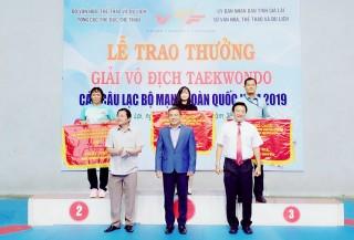 An Giang đoạt hạng nhì toàn đoàn nội dung quyền tại Giải vô địch Taekwondo các CLB mạnh toàn quốc năm 2019