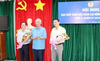 Liên đoàn Lao động tỉnh có Phó Chủ tịch mới