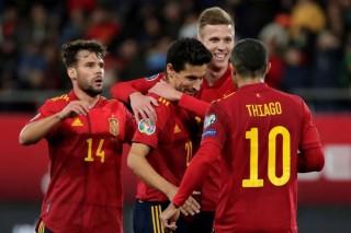 Vòng loại EURO 2020: Tây Ban Nha, Italia thắng đậm