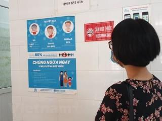 Gần 21.000 nhân viên y tế được tiêm vắcxin cúm mùa phòng bệnh