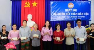 Nhiều địa phương ở TP. Long Xuyên tổ chức ngày hội Đại đoàn kết toàn dân tộc