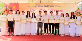 Trung tâm Giáo dục thường xuyên An Giang: Họp mặt kỷ niệm ngày Nhà giáo Việt Nam
