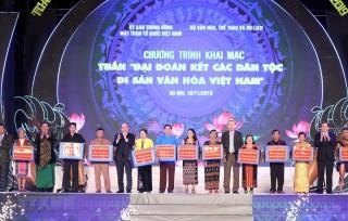 """Thủ tướng dự khai mạc Tuần """"Đại đoàn kết các dân tộc-Di sản Văn hóa"""""""