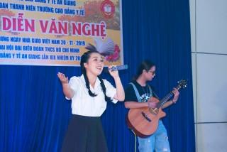 Đoàn Trường Cao đẳng Y tế An Giang tổ chức Hội diễn văn nghệ chào mừng ngày Nhà giáo Việt Nam