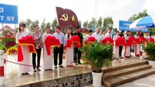 Khánh thành bia tưởng niệm liệt sĩ hy sinh năm 1968