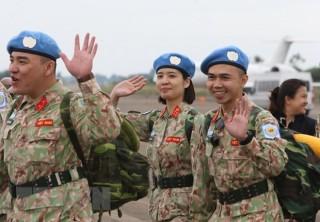 Việt Nam tham gia gìn giữ hòa bình LHQ: Tự hào với sứ mệnh mũ nồi xanh
