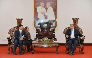 Chủ tịch UBND tỉnh tiếp làm việc với Tổng Lãnh sự quán Vương quốc Campuchia và Tỉnh trưởng tỉnh Champasak