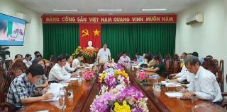 Châu Thành chuẩn bị tốt Đại hội Đảng bộ các cấp