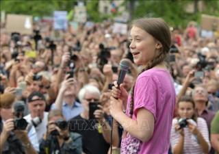 Nữ sinh Greta Thunberg đoạt giải thưởng hòa bình quốc tế dành cho trẻ em