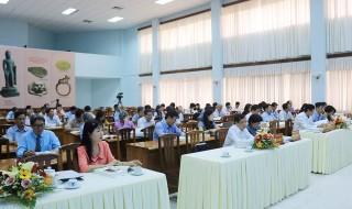 """Hội thảo khoa học cấp quốc gia """"Khu di tích Óc Eo - Ba Thê, Nền Chùa: khai quật, nghiên cứu, bảo tồn và phát huy giá trị"""""""