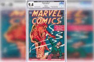 Cuốn truyện tranh đầu tiên của Marvel đạt kỷ lục đấu giá 1,26 triệu USD