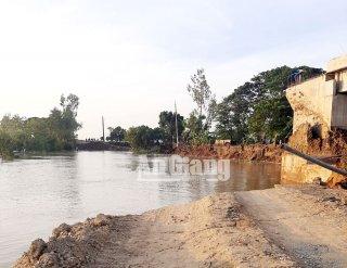 Sạt lở ở Vĩnh Hội Đông, thiệt hại trên 4 tỷ đồng