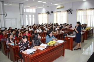 Nâng cao kỹ năng lãnh đạo cho nữ cán bộ quản lý các cấp