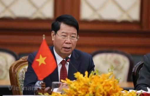 Bộ Công an Việt Nam tăng cường hợp tác cùng Bộ Nội vụ Campuchia