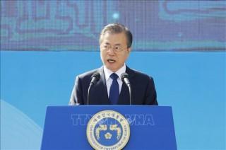 Tổng thống Moon Jae-in kêu gọi tăng cường hợp tác văn hóa vì sự thịnh vượng chung