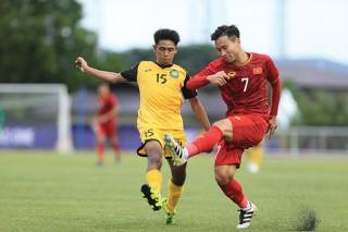 U.22 Việt Nam khởi đầu nhẹ nhàng với chiến thắng đậm trước U.22 Brunei