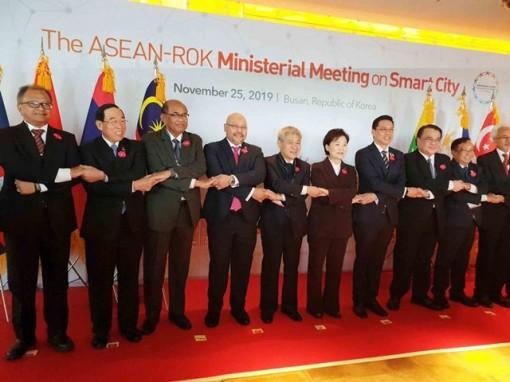 Khai mạc Hội nghị Bộ trưởng ASEAN - Hàn Quốc về đô thị thông minh