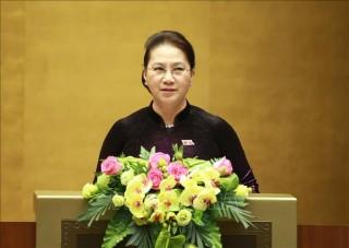 Toàn văn Bài phát biểu bế mạc Kỳ họp thứ 8, Quốc hội khóa XIV của Chủ tịch Quốc hội Nguyễn Thị Kim Ngân