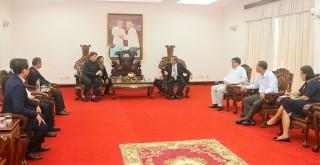 Lãnh đạo tỉnh tiếp Tổng Giám mục, đặc phái viên không thường trú của Vatican tại Việt Nam
