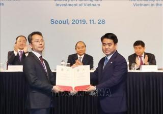 Làn sóng đầu tư của Hàn Quốc vào Hà Nội