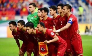 Tuyển Việt Nam xếp hạng cao nhất trong vòng 20 năm qua