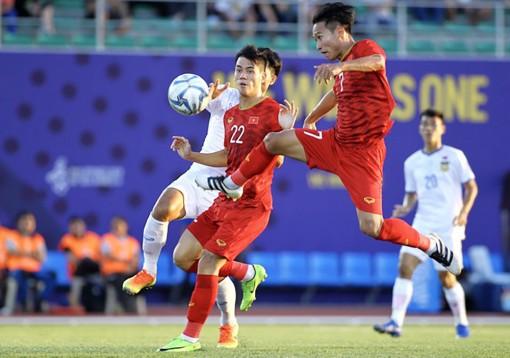 Hạ U.22 Lào 6-1, U.22 Việt Nam khẳng định sức mạnh
